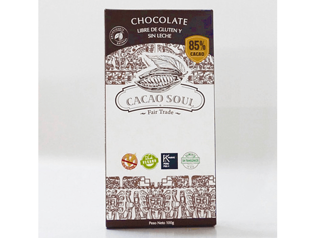 Barra Chocolate al 85% Cacao