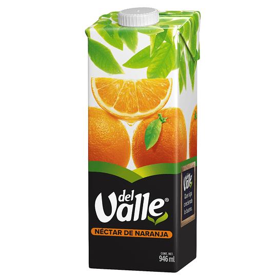 Del Valle Tetra Naranja 946ml 1P