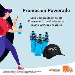 Promoción Powerade Gorra