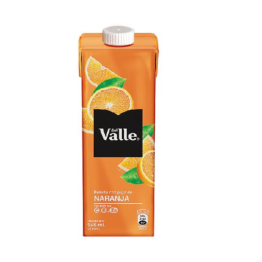 Del Valle Tetra Naranja 946ml 12 Piezas