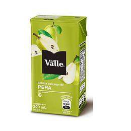 Del Valle Tetra Pera 200ml 24 Piezas