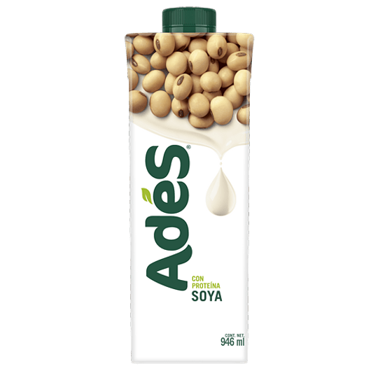 Ades Soya Natural 946ml Pet 12 Piezas