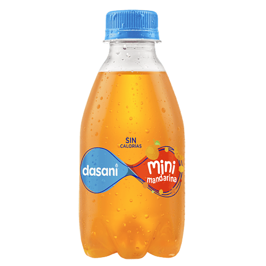 Dasani Mini Saborizada 8 oz Mandarina 12 Piezas