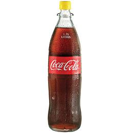 Coca-Cola 1.25L Vidrio Retornable 12 Piezas