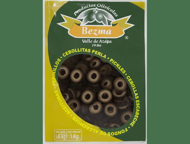 Aceitunas sin Amargo en Rodaja Bolsa de 1 Kg.