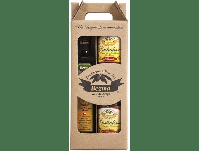 Pack de Regalo 3 productos - Aceite Extra Virgen con Ajo