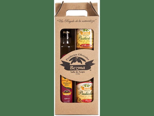 Pack de Regalo 3 productos - Aceite Sabor Intenso con orégano