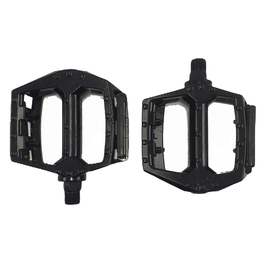 PEDAL FREESTYLE ALLOY NEGRO 1/2 C/REFLECTOR
