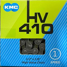 CADENA KMC 1/2X1/8114L HV410 1VEL GRAY/BROWN