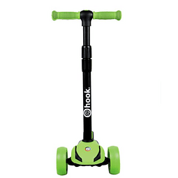 Scooter 3 Ruedas Maxi Hook Green