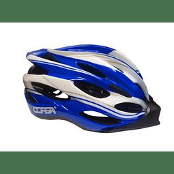 Casco Corsa MTB In-Mold Azul-Blanco
