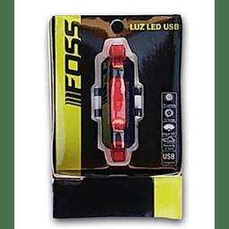 Luz Foss 3402 USB Roja 3 Funciones