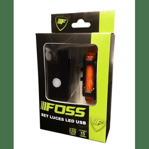 Set Luces Foss USB