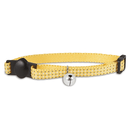 CAT COLLAR GLOW AMARILLO