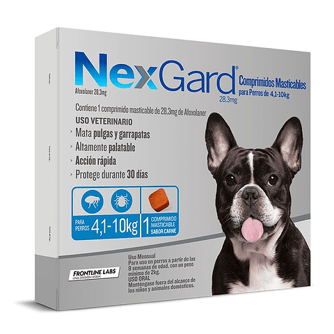 NEXGARD 4-10 KG