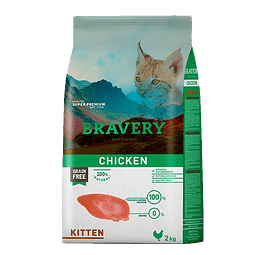 CAT CHICKEN KITTEN 2 KG