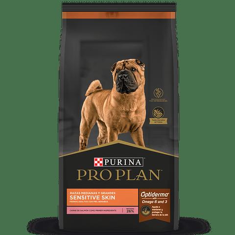 Pro Plan Sensitive Skin Salón M/L 3kg