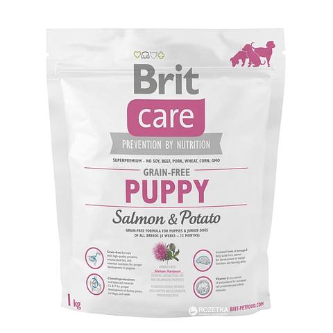 Brit Care Puppy Salmón 1 Kg
