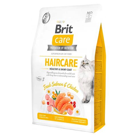 Brit Care Cat Grain Free Haircare Health & Shiny Coat 7 KG
