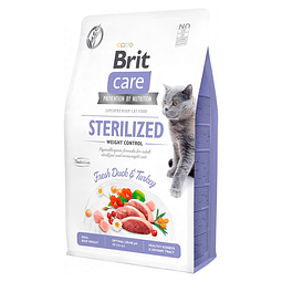 Brit Care Cat Grain Free Sterilized Weight Control 7 KG