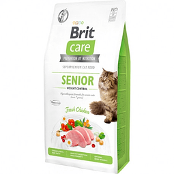 Brit Care Cat Senior Weight Control 2 Kg