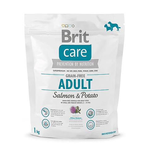 Brit Care Adulto Grain Free Salmón y Papa 1 KG