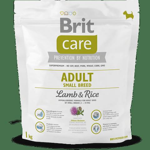 Brit Care Adulto Small Lamb & Rice 1 KG