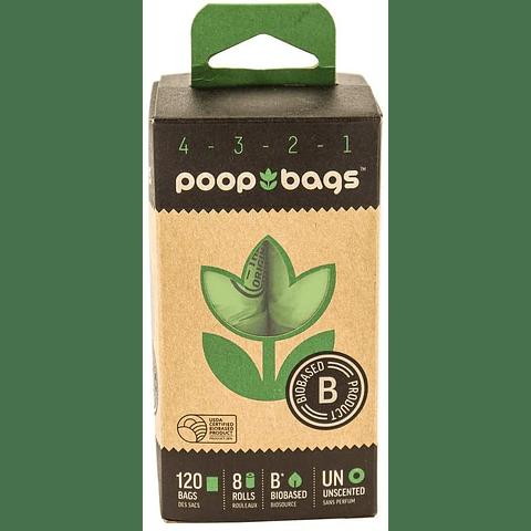 Bolsitas de paseo - 8 rollos biodegradables