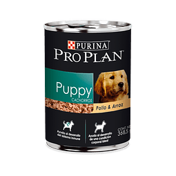 LATA PUPPY POLLO Y ARROZ 368g