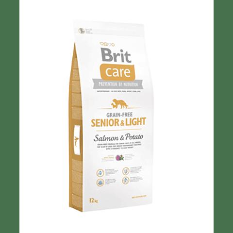 SENIOR & LIGHT SALMON 12 KG