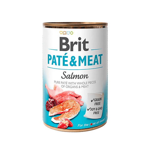 PATE & MEAT SALMON 400g