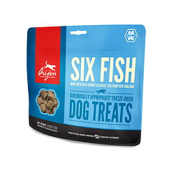 SIX FISH DOG TREATS 42.5g