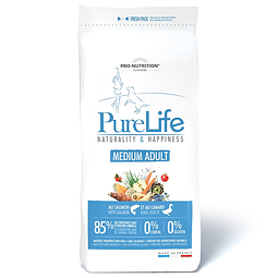 PURE LIFE ADULTO MEDIUM 12 KG