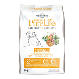 PURE LIFE GATO STERILIZED 8 KG