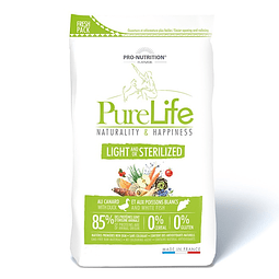 PURE LIFE LIGHT STERILIZED 2KG