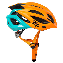 CASCO TRIP MTB DELIRIUM ORANGE/BLUE