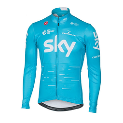 LONG SLEEVE THERMAL JERSEY TEAM SKY