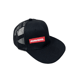 GORRA SRAM OPEN NEGRO SIDE