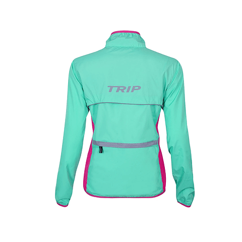 CORTAVIENTO TRIP TURQ/PINK