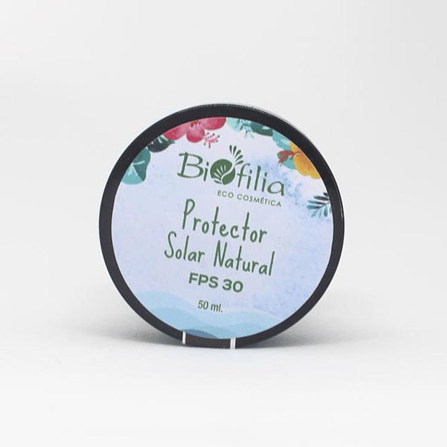 Protector Solar Natural FPS 30