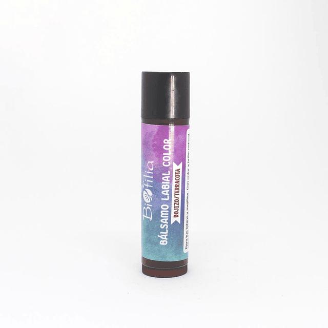 Bálsamo Labial Color Rojizo/Terracota