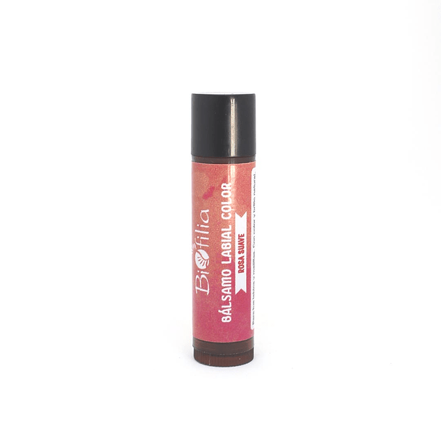 Bálsamo Labial Color Rosa Suave