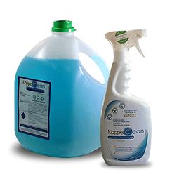 Kit desinfectante con cobre iónico 5 litros + 900 ml listo para usar