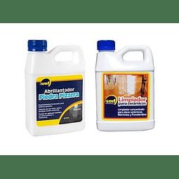 Limpiador cerámicos + Abrillantador Piedra Pizarra
