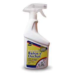Limpiador Baños y Duchas MENTOL 750cc