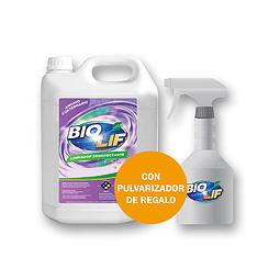 Sanitizante base Amonio Cuaternario 5 Litros