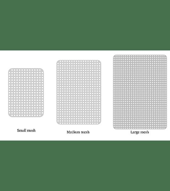 Malla de titanio 50 x 70 mm