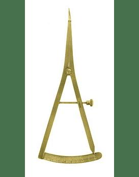Castroviejo Caliper 15cm (Gold) - Curved