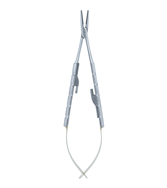Castroviejo Needle Holder T/C 14cm - Straight