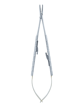 Castroviejo Needle Holder T/C 18cm - Curved